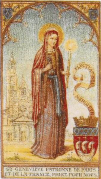 Ad Sanctam Trinitatem per Mariam per Genovefam